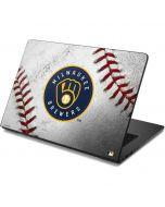 Milwaukee Brewers Game Ball Dell Chromebook Skin
