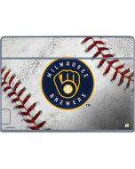 Milwaukee Brewers Game Ball Galaxy Book Keyboard Folio 12in Skin