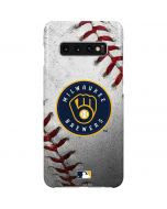 Milwaukee Brewers Game Ball Galaxy S10 Plus Lite Case