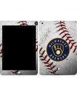 Milwaukee Brewers Game Ball Apple iPad Skin