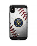 Milwaukee Brewers Game Ball iPhone XS Max Cargo Case