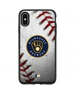 Milwaukee Brewers Game Ball Otterbox Symmetry iPhone Skin