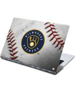 Milwaukee Brewers Game Ball Yoga 910 2-in-1 14in Touch-Screen Skin