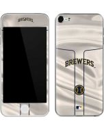 Milwaukee Brewers Home Jersey Apple iPod Skin