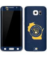 Milwaukee Brewers Home Turf Galaxy S6 Edge Skin