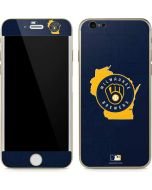 Milwaukee Brewers Home Turf iPhone 6/6s Skin
