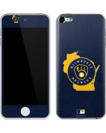 Milwaukee Brewers Home Turf Apple iPod Skin