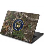 Milwaukee Brewers Realtree Xtra Green Camo Dell Chromebook Skin