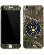 Milwaukee Brewers Realtree Xtra Green Camo iPhone 6/6s Skin