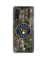 Milwaukee Brewers Realtree Xtra Green Camo LG Velvet Clear Case