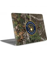 Milwaukee Brewers Realtree Xtra Green Camo Apple MacBook Air Skin