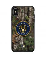Milwaukee Brewers Realtree Xtra Green Camo Otterbox Symmetry iPhone Skin