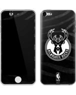 Milwaukee Bucks Animal Print Black Apple iPod Skin