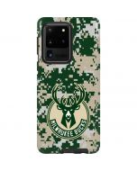 Milwaukee Bucks Camo Digi Galaxy S20 Ultra 5G Pro Case