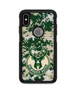 Milwaukee Bucks Camo Digi Otterbox Commuter iPhone Skin