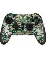 Milwaukee Bucks Camo Digi PlayStation Scuf Vantage 2 Controller Skin