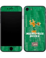 Milwaukee Bucks Hardwood Classics iPhone SE Skin