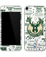 Milwaukee Bucks Historic Blast New Apple iPod Skin