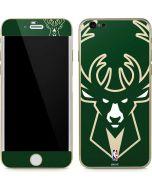 Milwaukee Bucks Large Logo iPhone 6/6s Skin