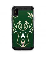 Milwaukee Bucks Large Logo iPhone XS Max Cargo Case