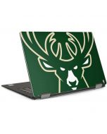Milwaukee Bucks Large Logo Dell XPS Skin