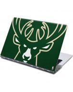 Milwaukee Bucks Large Logo Yoga 910 2-in-1 14in Touch-Screen Skin