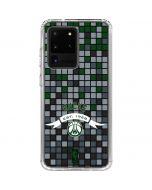 Milwaukee Bucks Pixels Galaxy S20 Ultra 5G Clear Case