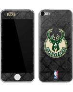 Milwaukee Bucks Rusted Dark Apple iPod Skin