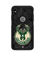 Milwaukee Bucks Rusted Dark Otterbox Commuter iPhone Skin