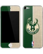 Milwaukee Bucks Split Canvas Apple iPod Skin