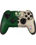 Milwaukee Bucks Split Canvas PlayStation Scuf Vantage 2 Controller Skin