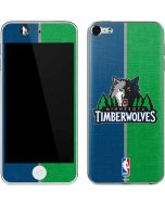 Minnesota Timberwolves Canvas Apple iPod Skin