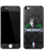 Minnesota Timberwolves Dark Rust Apple iPod Skin