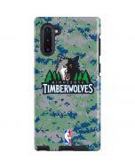 Minnesota Timberwolves Digi Camo Galaxy Note 10 Pro Case