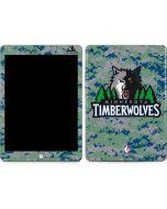 Minnesota Timberwolves Digi Camo Apple iPad Skin