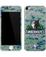 Minnesota Timberwolves Digi Camo Apple iPod Skin