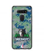 Minnesota Timberwolves Digi Camo LG K51/Q51 Clear Case