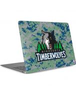 Minnesota Timberwolves Digi Camo Apple MacBook Air Skin
