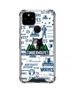 Minnesota Timberwolves Historic Blast Google Pixel 5 Clear Case