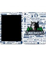 Minnesota Timberwolves Historic Blast Apple iPad Skin