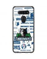 Minnesota Timberwolves Historic Blast LG K51/Q51 Clear Case