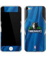 Minnesota Timberwolves Jersey Apple iPod Skin