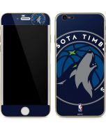 Minnesota Timberwolves Large Logo iPhone 6/6s Skin