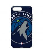 Minnesota Timberwolves Large Logo iPhone 7 Plus Pro Case