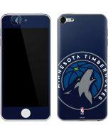Minnesota Timberwolves Large Logo Apple iPod Skin