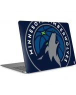 Minnesota Timberwolves Large Logo Apple MacBook Air Skin
