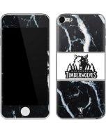 Minnesota Timberwolves Marble Apple iPod Skin
