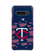 Minnesota Twins - Cap Logo Blast Galaxy S10 Plus Lite Case