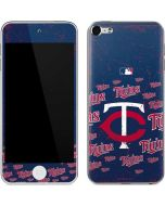 Minnesota Twins - Cap Logo Blast Apple iPod Skin