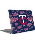 Minnesota Twins - Cap Logo Blast Apple MacBook Air Skin